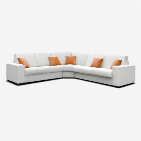 Vendita divano moderno angolare modello demetra - Divano moderno angolare ...