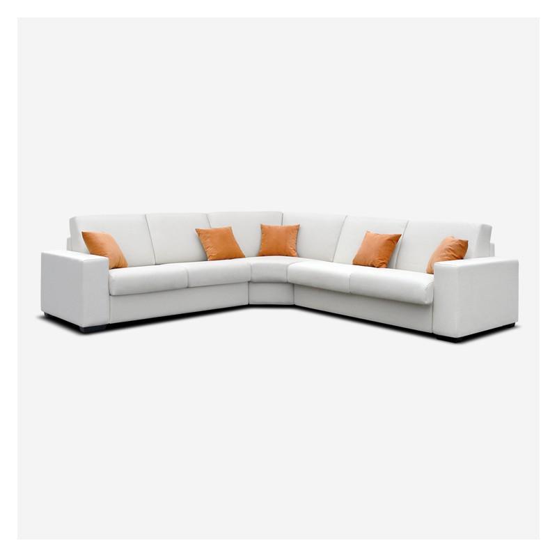 Vendita divano moderno angolare modello demetra - Divano angolare moderno ...