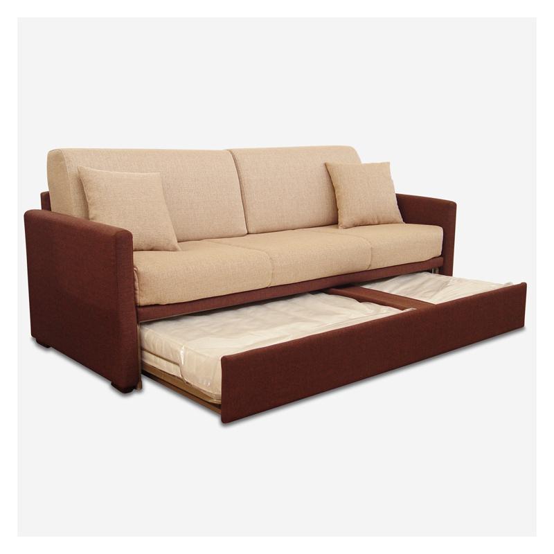 Vendita online divano doppio letto estraibile icaro for Divano con letto estraibile