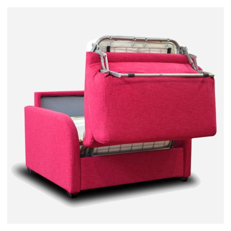 Vendita poltrona letto pratica e salvaspazio modello greta - Poltrone e sofa poltrona letto ...