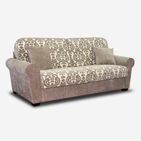 Vendita divano elegante online gran classico 2 o 3 posti - Divano classico tessuto ...