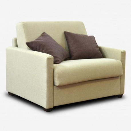Armchair Single Bed 1 place Dylan
