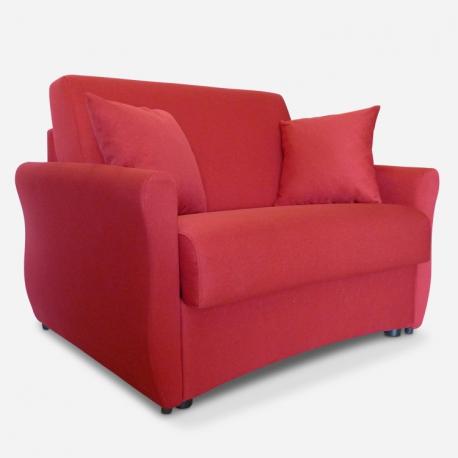 Poltrona letto elegante 1 posto singolo modello alice - Poltrone letto singolo ...